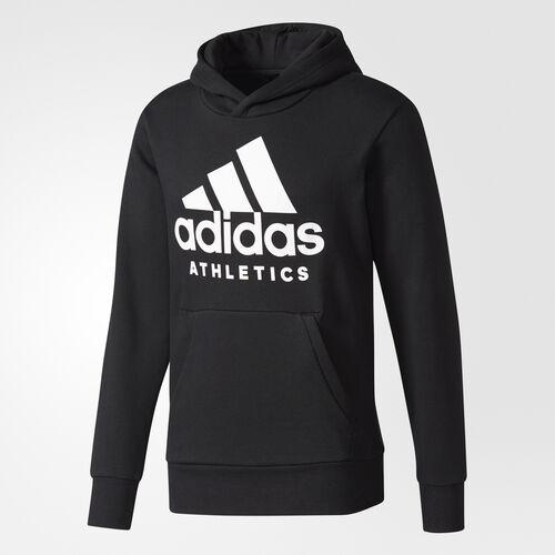 adidas - Sweat-shirt à capuche Sport ID Badge of Sport Black/White CF1384