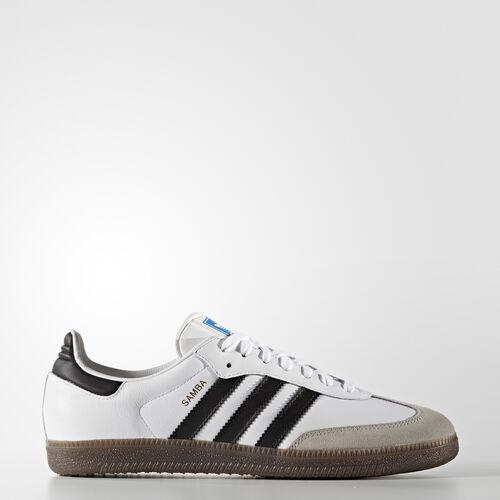 adidas - Samba Original Schoenen Footwear White/Core Black/Gum BB2588