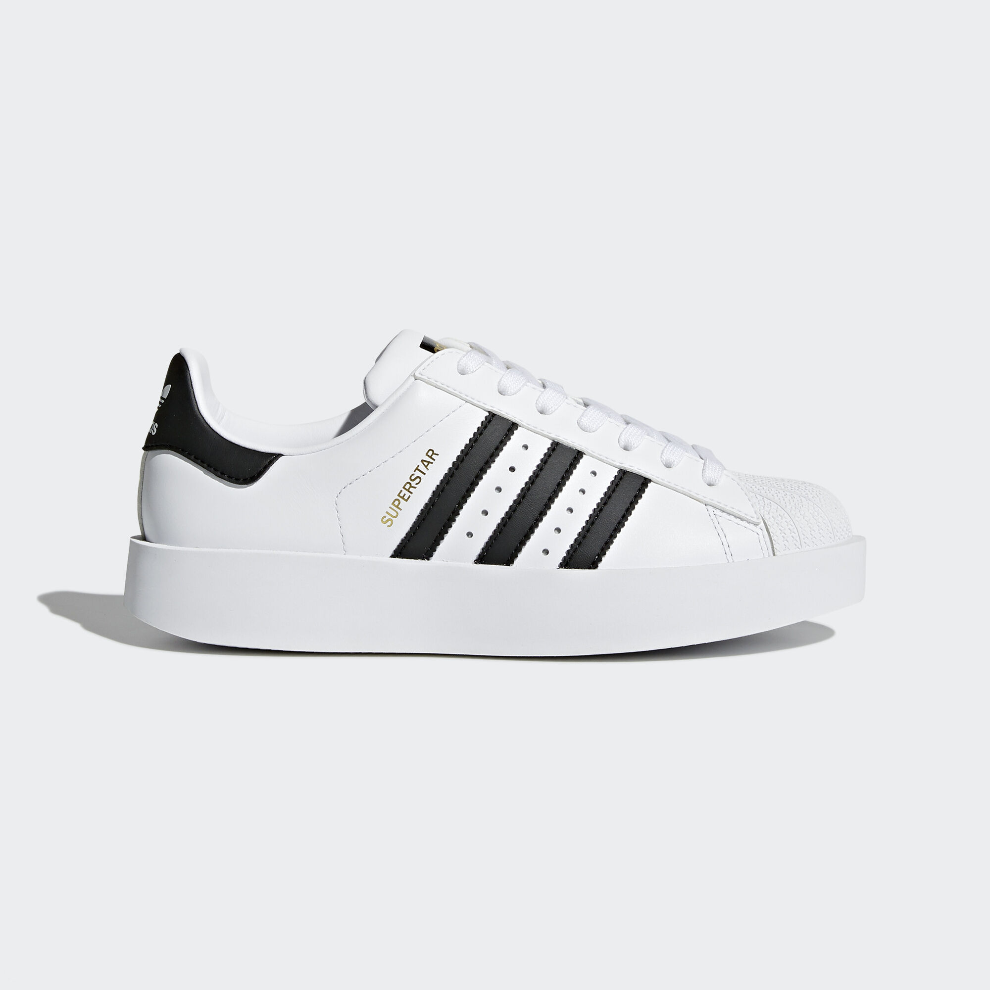 Adidas Superstar Blanco Con Verde