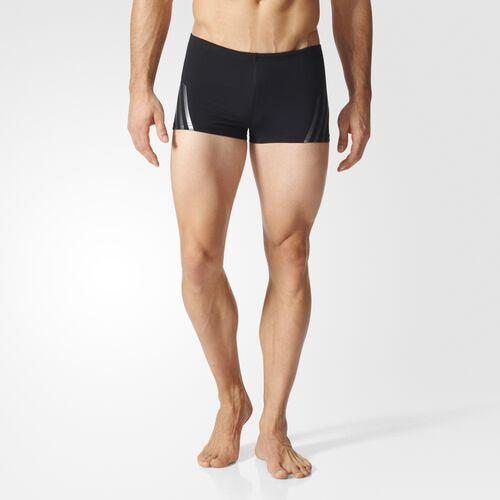 adidas - Streamline 3-Stripes Swim Boxers Black BK3705