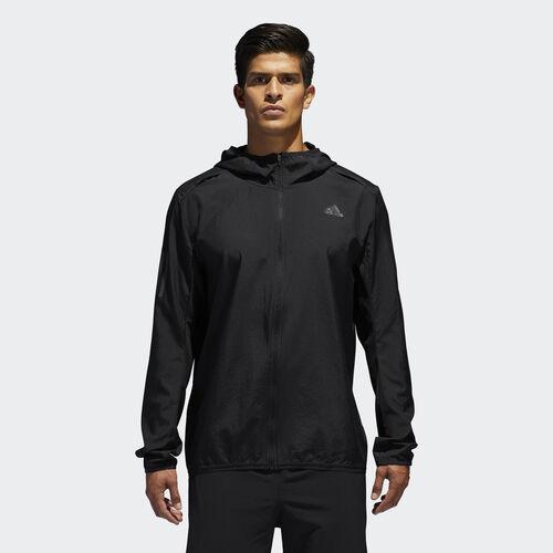 adidas - Response Hooded vindjakke Black BQ2152