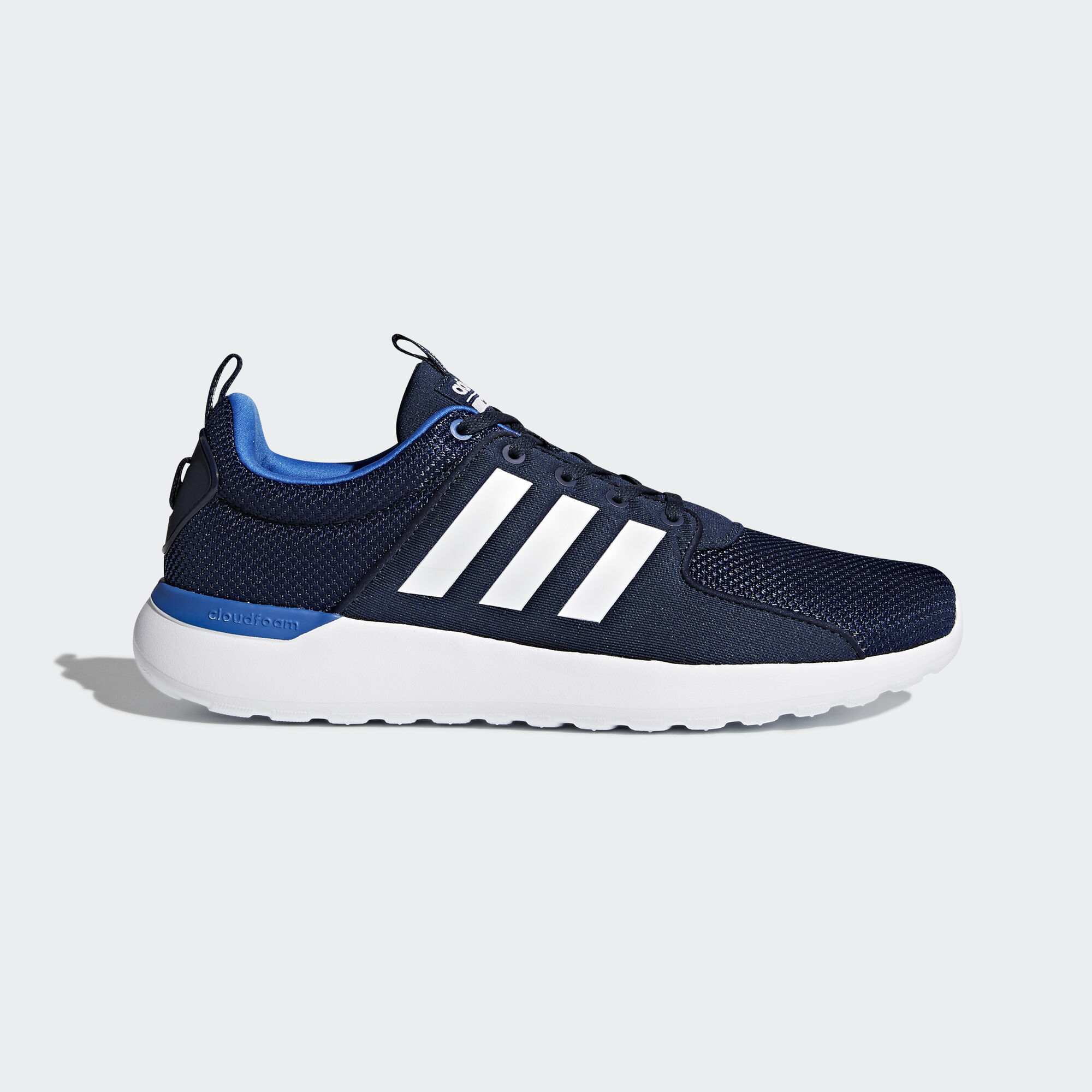 adidas - Cloudfoam Lite Racer Shoes Collegiate Navy/Footwear White/Blue  BB9821