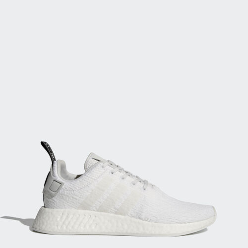 adidas - NMD_R2 Shoes Crystal White /Crystal White /Core Black BY9914