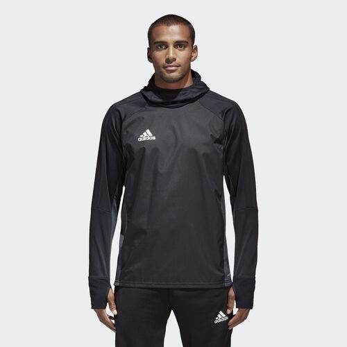 adidas - Tiro 17 Warm Shirt Black/Dark Grey/White AY2867