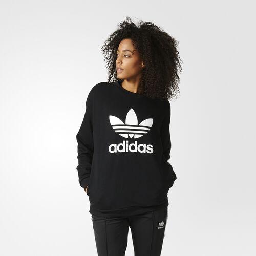 adidas - Sweat-shirt Trefoil Black BK5916