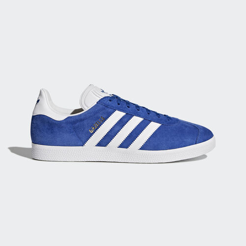 adidas - Gazelle Schuh Collegiate Royal/White/Gold Metallic S76227