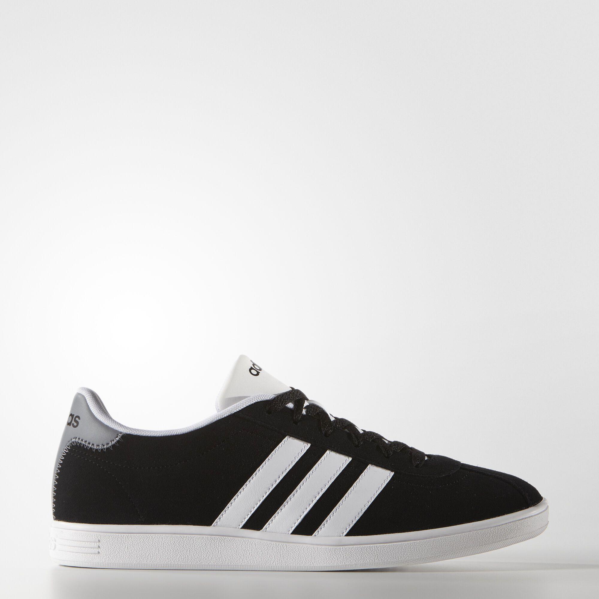adidas vl court shoes black adidas uk. Black Bedroom Furniture Sets. Home Design Ideas