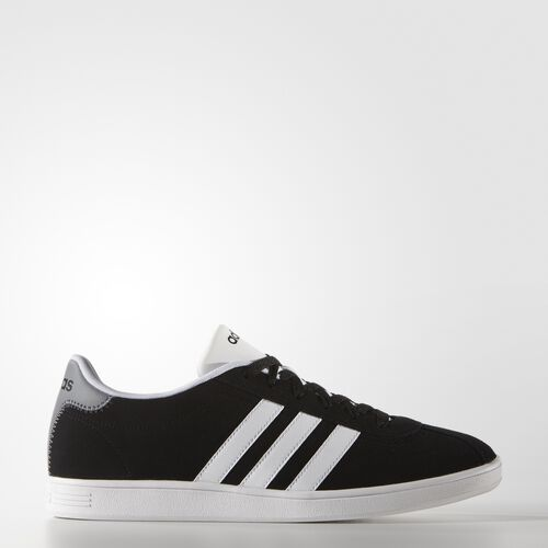 adidas - VL Court Shoes Core Black/White/Grey F99137