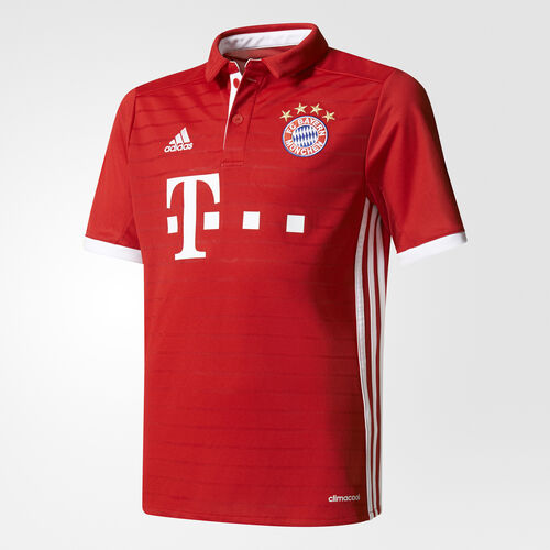 adidas - FC Bayern München Home Replica Jersey True Red/White AI0055