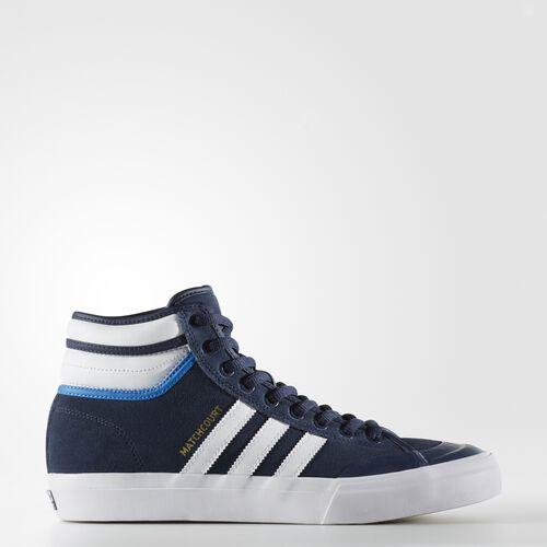 adidas - Matchcourt High RX2 Shoes Collegiate Navy/Footwear White/Bluebird BY4104