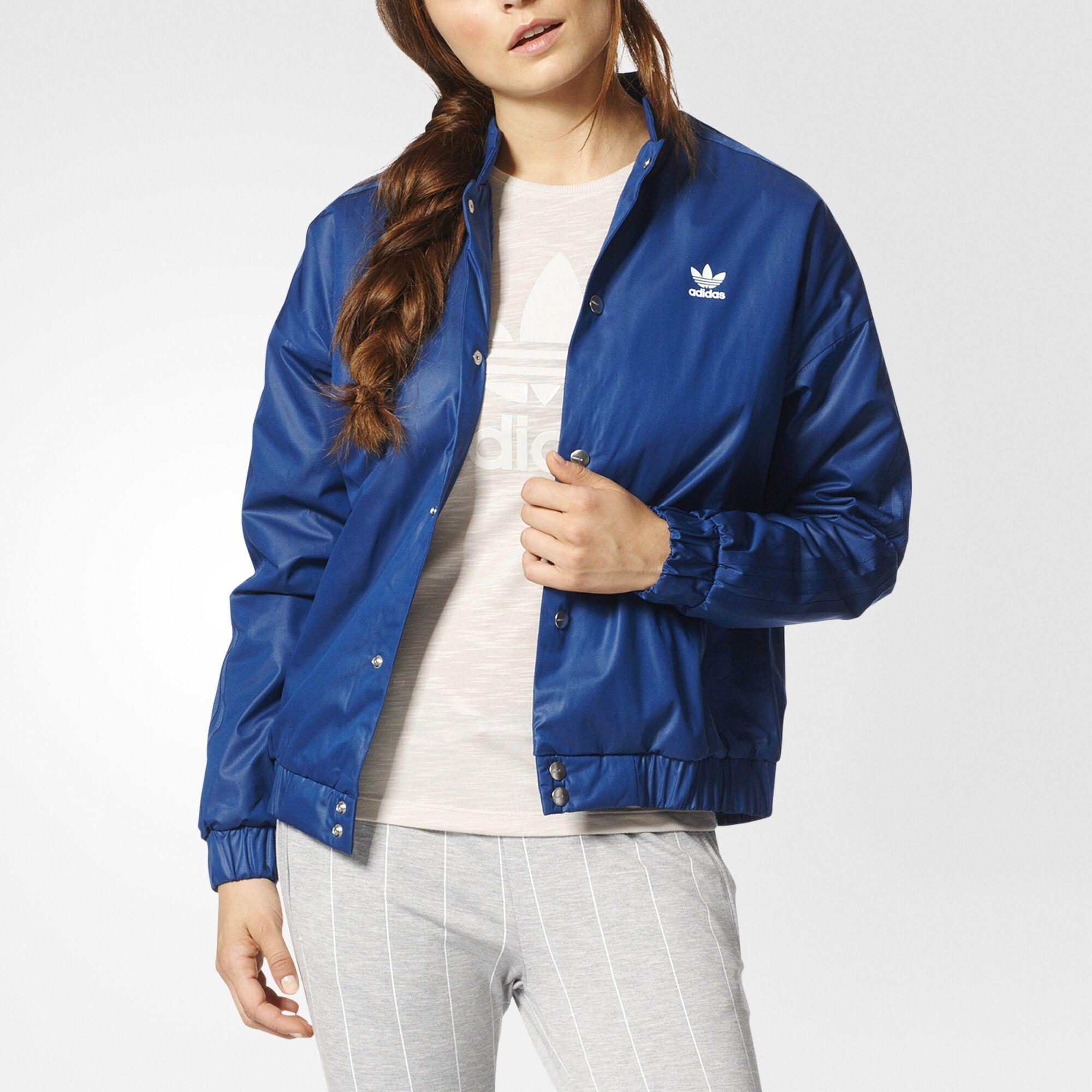 ADIDAS jacket women blue   Ravenol