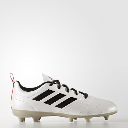 adidas - ACE 17.4 Firm Ground Boots Footwear White/Core Black/Core Red BA8558