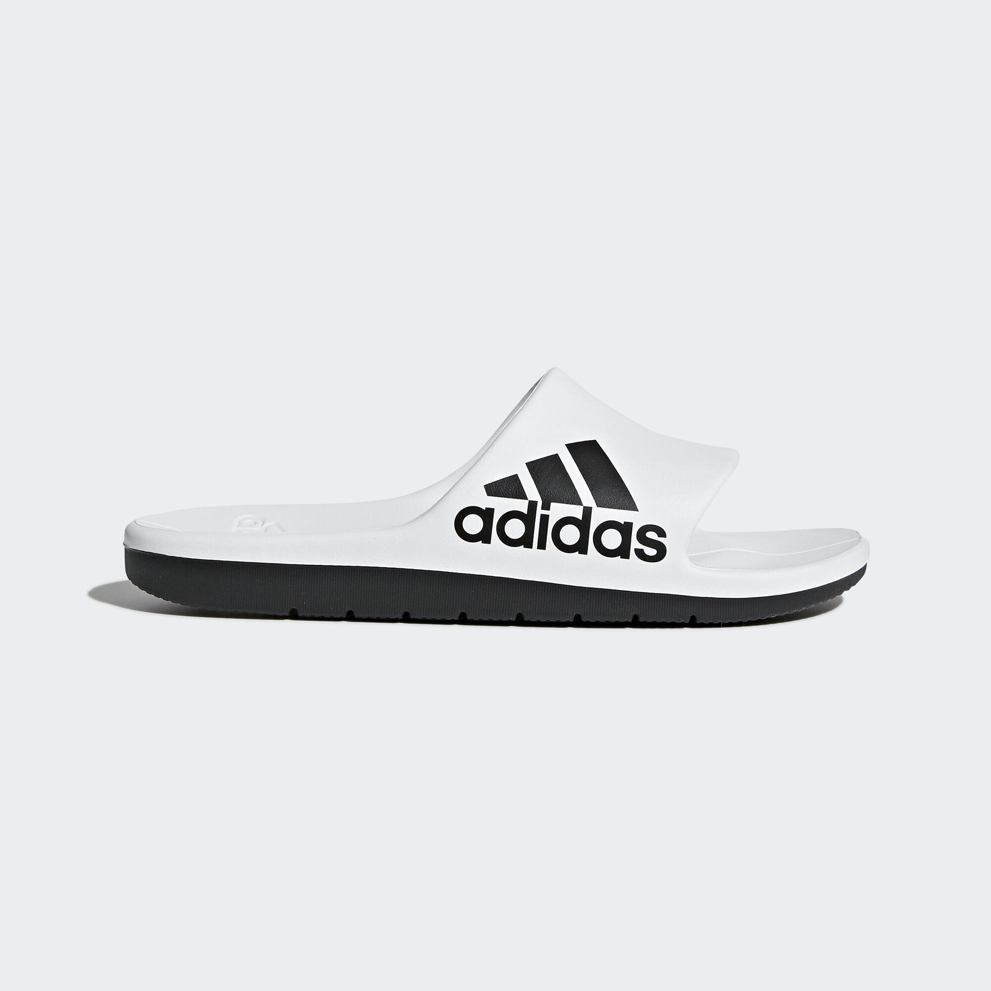 adidas - Aqualette Cloudfoam Slides Ftwr White/Core Black/Core Black CM7927