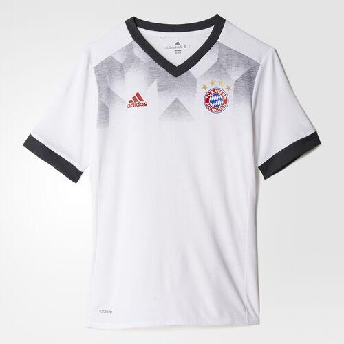 adidas - FC Bayern Munich Home Pre-Match Jersey White/Dark Grey Heather Solid Grey BP9177
