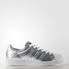 Adidas Superstar Blanco Y Plata