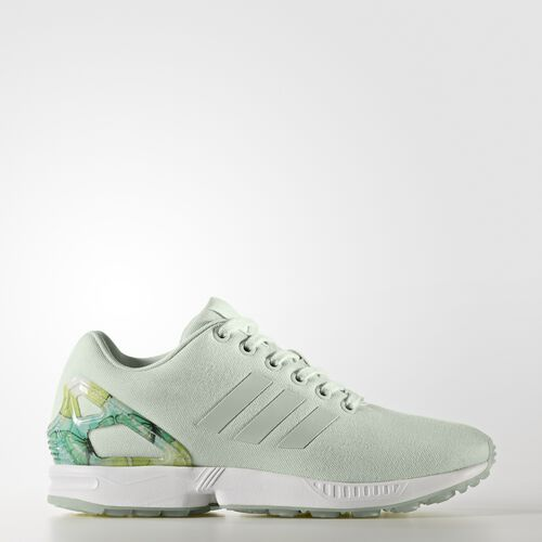 adidas - ZX Flux Shoes Linen Green/Footwear White BB2269
