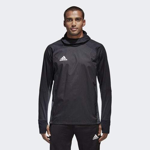 adidas - Tiro 17 Warm Shirt Black/Dark Grey/White AY2867