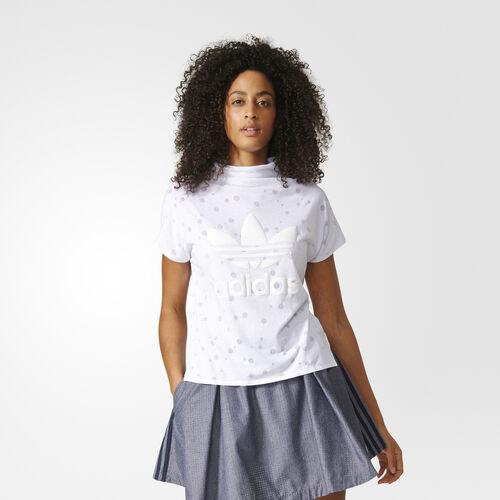 adidas - High Collar T-Shirt White BK2262
