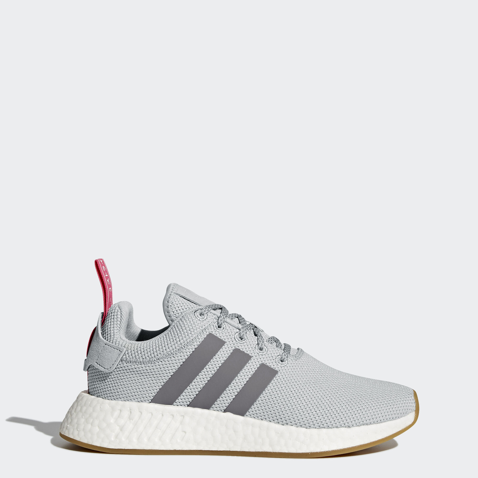[BY9317] New Women's ADIDAS Originals NMD_R2 - Grey Pink