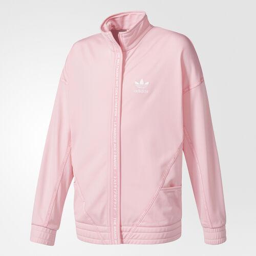 adidas - Firebird Track Jacket Light Pink/White BQ4046