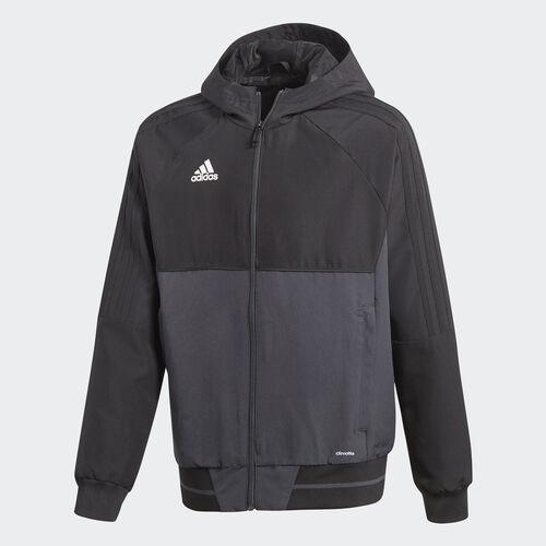 adidas - Tiro 17 Presentation Jacket Black/Dark Grey/White AY2857