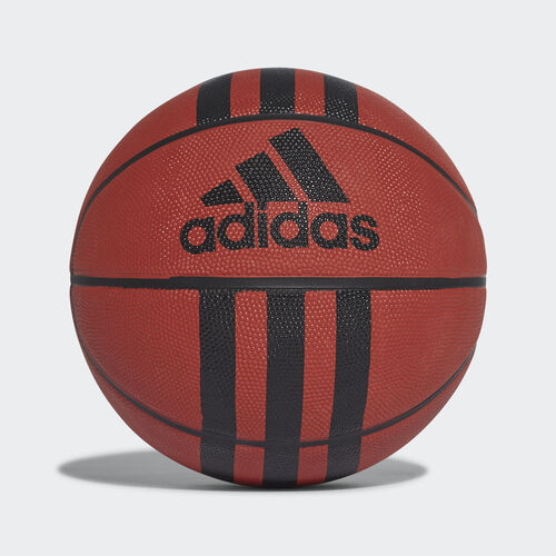 adidas - Bola de Basquetebol 3-Stripes Basketball Natural/Black 218977