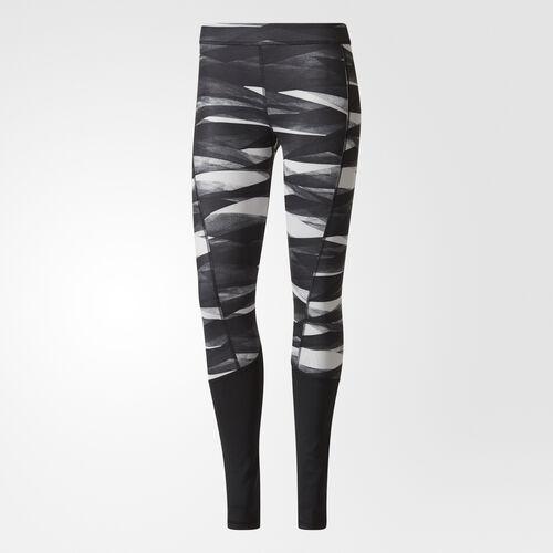 adidas - Legíny Techfit Long Print Print/Grey Two /Black BQ7128