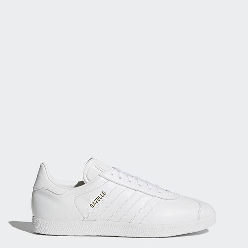 adidas - Gazelle Shoes White/ White/Gold Met. BB5498