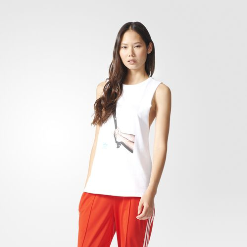 adidas - Graphic Tank Top Core White BK5935