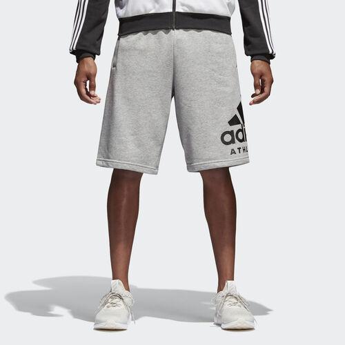 adidas - SID Athletics Logo Shorts Medium Grey Heather/Black BP8472