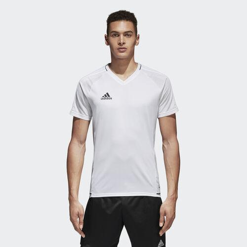 adidas - Tiro 17 Trainingstrikot White/Black BQ2801