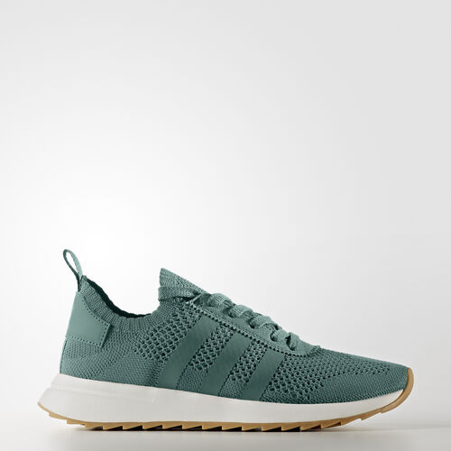 adidas - Primeknit FLB Shoes Trace Green/Crystal White BY2798
