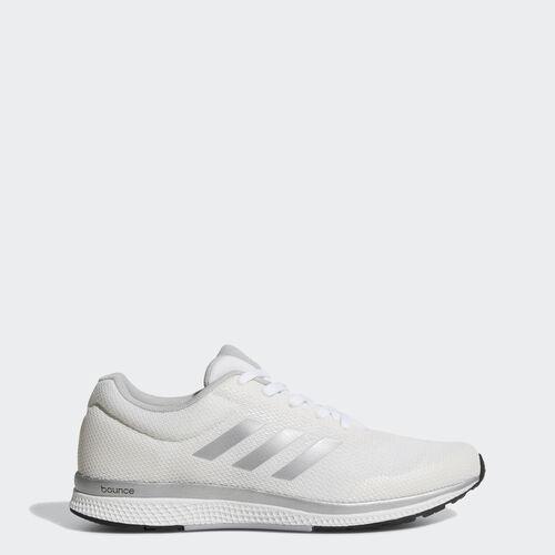 adidas - Zapatilla Mana Bounce 2.0 Footwear White/Silver Metallic/Clear Onix BW0564