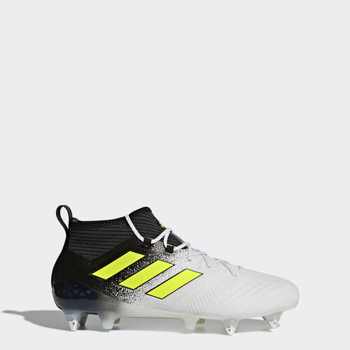 adidas - ACE 17.1 Soft Ground Boots Footwear White/Solar Yellow/Core Black S77049