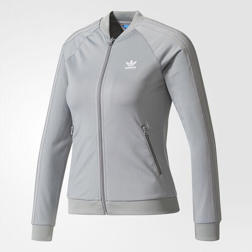adidas - SST Track Jacket Grey Three /White CE6255
