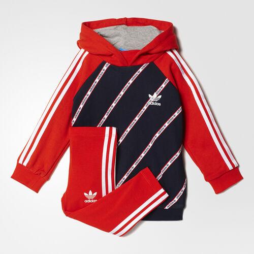 adidas - Hoodie Set Legend Ink/Core Red/White BJ8452