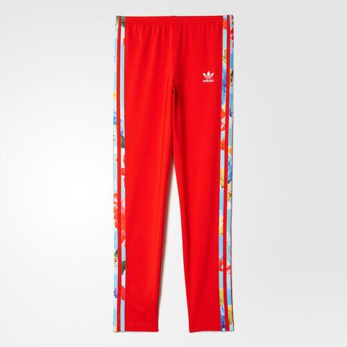 adidas - Legging 3-Stripes Core Red/Multicolor BK2040