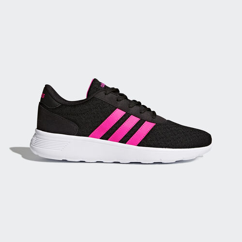 adidas - Lite Racer Shoes Core Black/Shock Pink /Footwear White BB9835