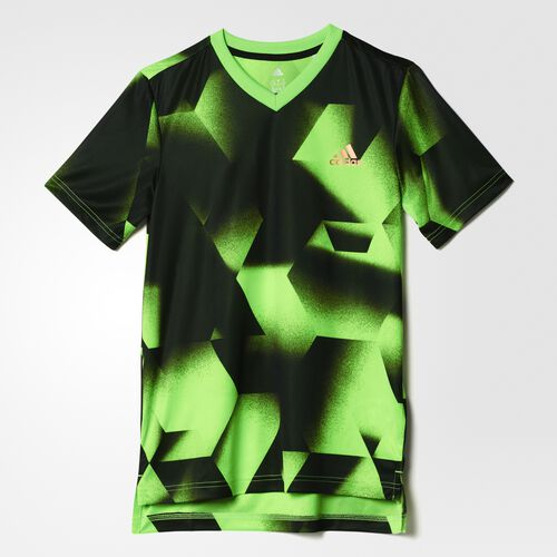 adidas - Urban Football Tee Solar Green/Black/Copper Metallic BJ8438