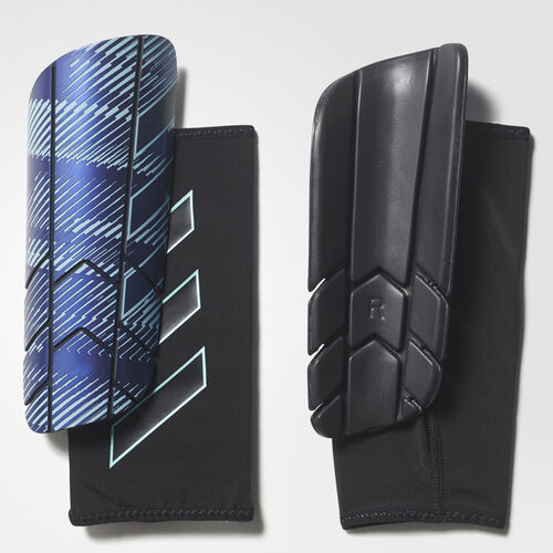 adidas - Ghost Graphic Thunderstorm Shin Guards Legend Ink /Mystery Ink /Energy Aqua CD9137