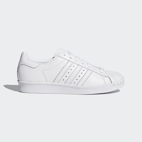 adidas - Superstar 80s Shoes White/White/Core Black S76540