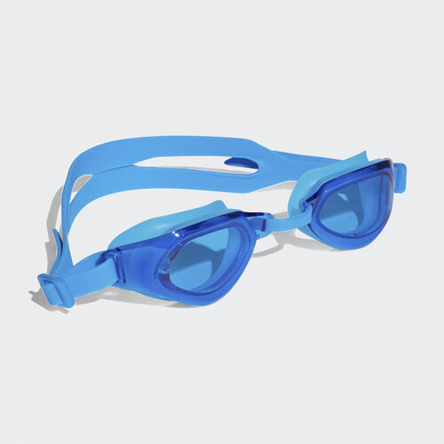 adidas - Óculos Persistar Fit Unmirrored Bright Blue/Bright Blue/White BR5833