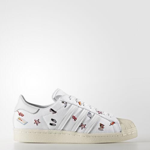 adidas - Superstar 80s Schuh Footwear White/Footwear White/Off White BZ0650