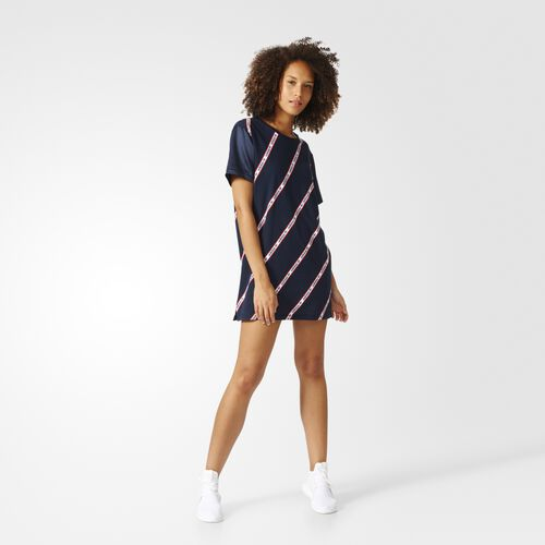 adidas - Trefoil Tee Dress Legend Ink BJ8369