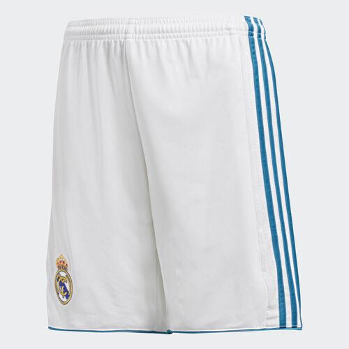 adidas - Real Madrid Home Replica Shorts White/Vivid Teal B31117