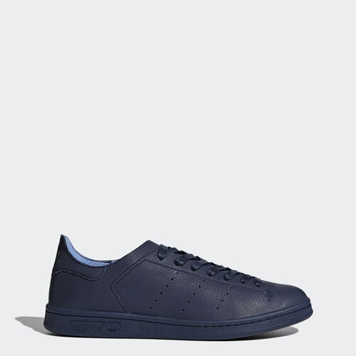 adidas - Stan Smith Leather Sock Shoes Collegiate Navy/Collegiate Navy/Collegiate Navy BZ0231
