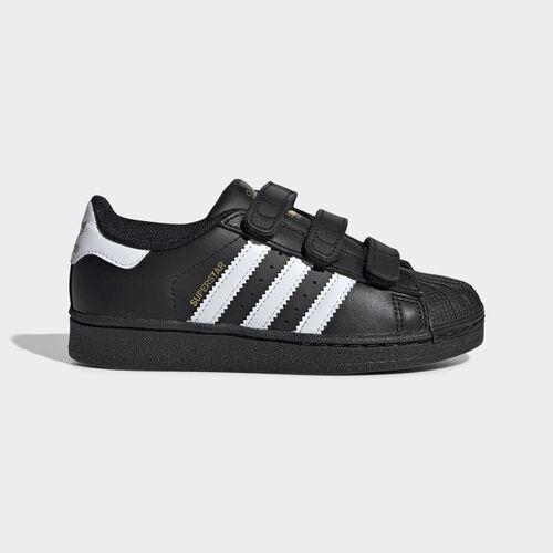 adidas - Superstar Foundation Shoes Core Black/White B26071