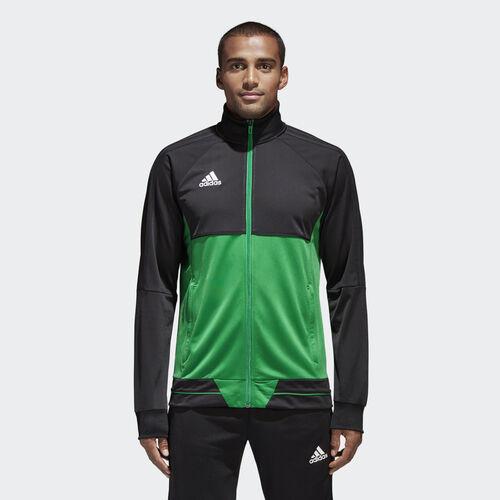 adidas - Tiro 17 Training Jacket Black/Green/White BQ2599