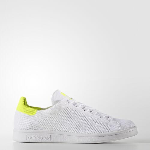 adidas - Stan Smith Primeknit Shoes Footwear White/Solar Yellow BB5147