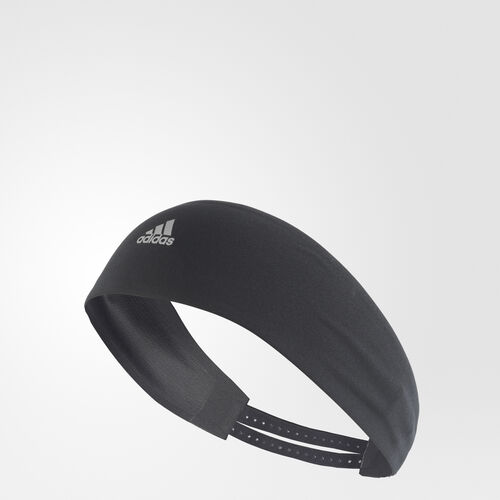 adidas - Climalite Running Headband Black/Reflective Silver S99780